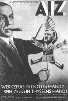 hitler-marionnette