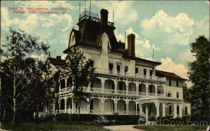 John D Rockefeller Residence - Forest Hill Cleveland, OH