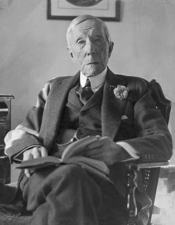 John D. Rockefeller 1927